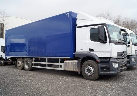 Actros L-Cab ClassicSpace (Low Rf Sleeper Cab)